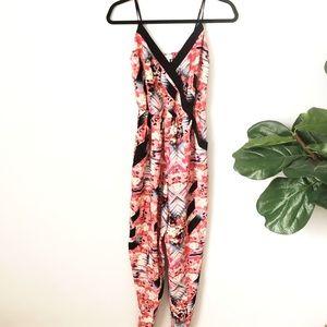 TOBI Floral Jumpsuit